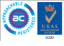 ISO 9001 Approachable registered logo.