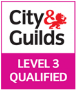 City & Guilds Level 3 qualified.