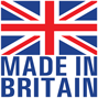 Made in Britain logo.